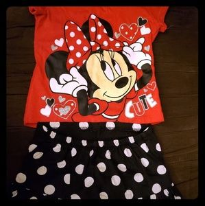 Disney Minnie 2 Piece Set